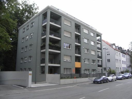 mehrfamilienhaus mit tiefgarage in augsburg an der. Black Bedroom Furniture Sets. Home Design Ideas